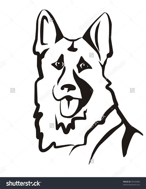 how to draw a german shepherd german shepherd simple pencil and in color german shepherd simple