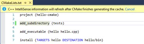 Cmake Documentation