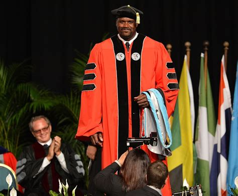 Shaq Mba by Congratulations On Doctorate Degree Quotes Quotesgram