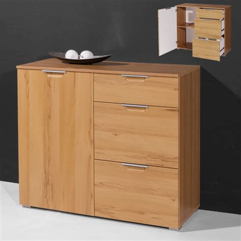 Beech Sideboards small sideboard in beech with 1 door and 3