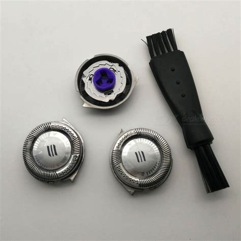Philips At751 Shaver 3pcs replacement shaver heads with brush for philips hq8