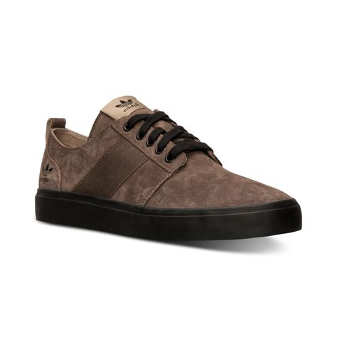 Adidas Casual Browni adidas s army tr low casual sneakers from finish line in brown for cargo brown black