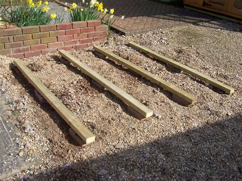 Floor Bearers iow garden building site and base preparation guide