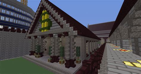 minecraft house ideas minecraft building ideas server bank