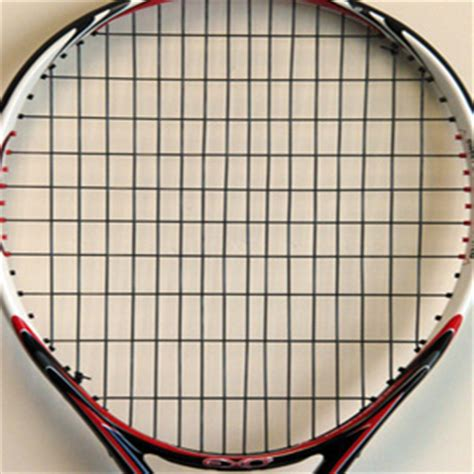 pattern test string spin and string stiffness in tennis