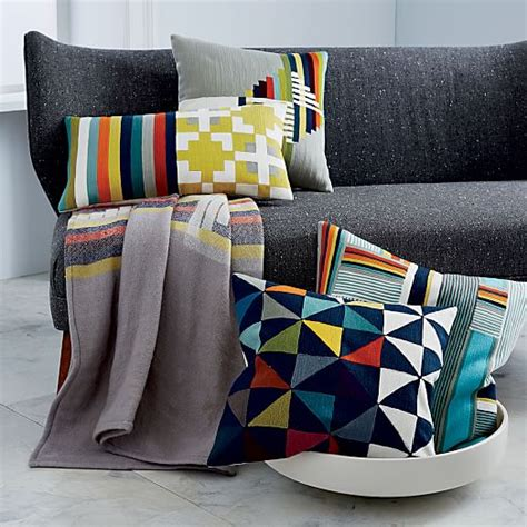 Exclusive Kentep Multi Terjamin wallace sewell kente crewel pillow cover west elm