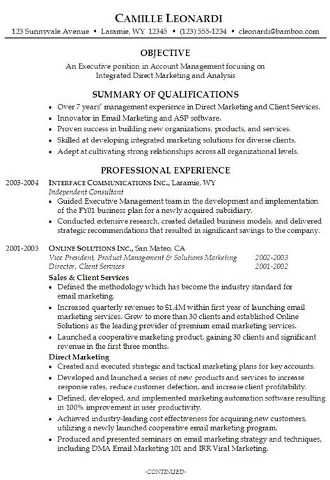sample resume vice president human resources professional resume