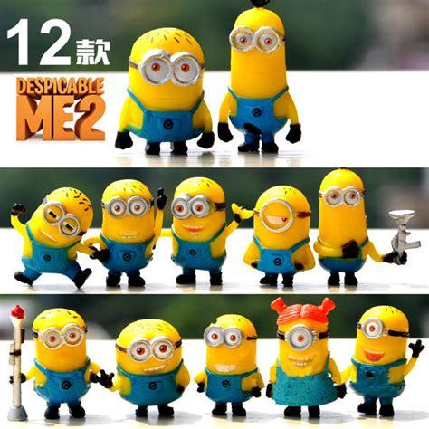 Set Figure Despicable Me 3 Minion Item Anime 12 Pcs Set Despicable Me 2 3d Minions Figure