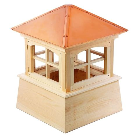 directions huntington 84 in x 105 in wood cupola