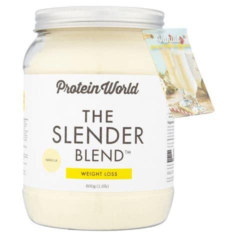 Protein World protein world vanilla slender blend powder 600g from ocado