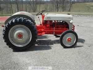 8n Ford Tractor Specs 1950s 8n Ford Tractor