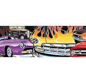 HOT ROD KRISTINA – Car T Shirts Automotive Illustration Pin