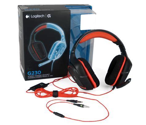 Headset Logitech G230 logitech g230 gaming headset review gaming entertainment