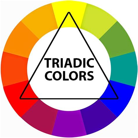 triadic color scheme basic art element color part 2 teresa bernard oil