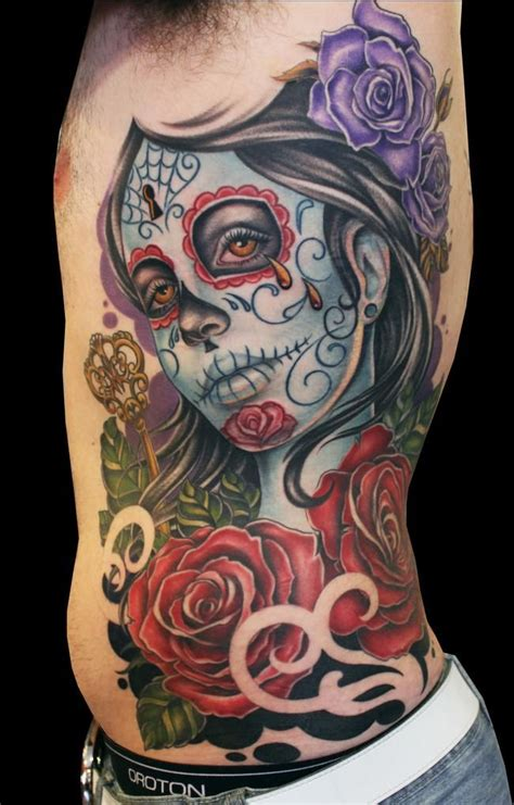 tattoo ideaa awesome sugar skull ideas