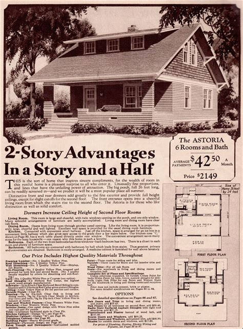 1930s bungalow floor plans classic wardway bungalow c 1930 late craftsman style