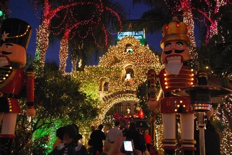 christmas lights picture of mission inn museum