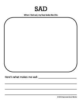 My Feelings Book by Expressive Social Worker   Teachers