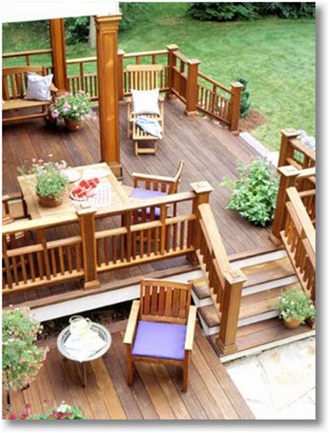 beautiful decks beautiful decks the least expensive living space you can buy