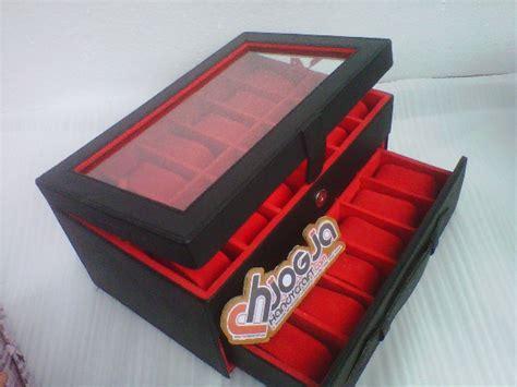 Box Box Jam Tangan Kotak Arloji Isi 3 Vinil box jam tangan susun isi 24