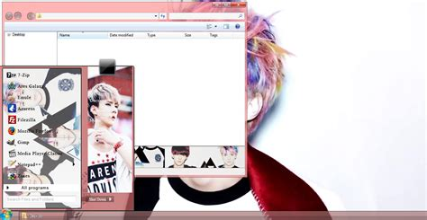 themes tumblr exo my kpop fanatik sehun exo windows 7 theme