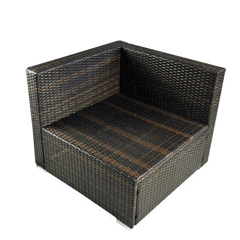 Rattan Sofa Ebay by Outsunny 6pc Rattan Wicker Patio Sofa Set Sectional Garden
