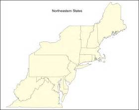 map of the united states northeast region search results for us northeast region blank map