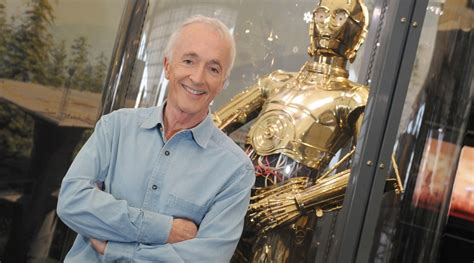 anthony daniels voice actor anthony daniels to suit up as c 3po in star wars episode