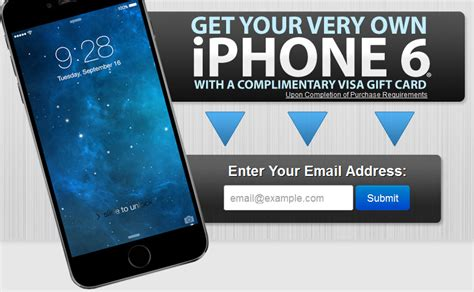 win a free iphone 7 free sles free stuff win a free iphone 6