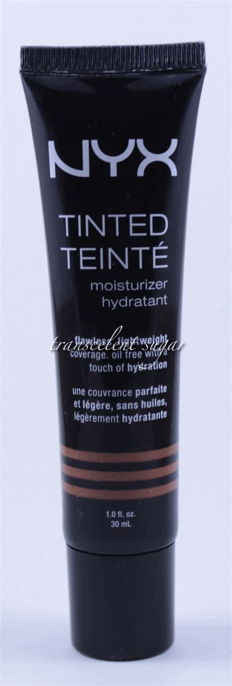 Nyx Tinted Moisturizer transcelent sugar nyx tinted moisturizer hydratant review