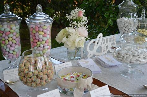 tavolo confetti matrimonio buffet di confetti per il matrimonio