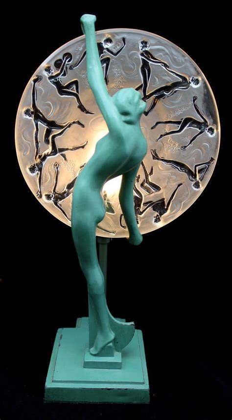 glass art deco lady l frankart art deco green nude l with consolidated glass