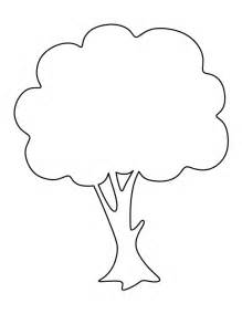 Tree Stencil Template by Apple Tree Pattern Use The Printable Outline For Crafts
