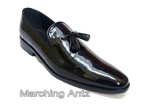Custom Glossy Valentino Cilubaa glossy formal tassle club wear 207 marchingantz leather shop buy custom made