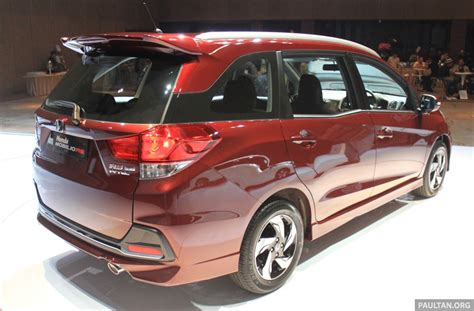 Spion Honda Mobilio Rs honda mobilio rs range topper launched in indonesia image 255006