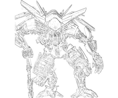 free coloring pages of grimlock pictures