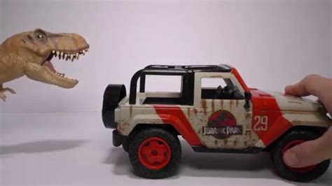 jurassic world jeep toy jurassic world radio controlled r c jeep wrangler from