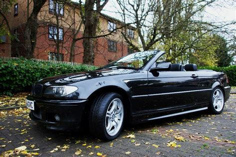 bmw  series ci   sport convertible black facelift
