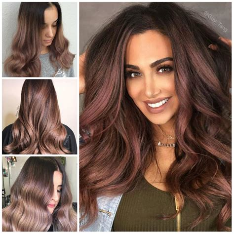 color for 2017 chocolate mauve hair color for 2017 hairstyles 2018 new