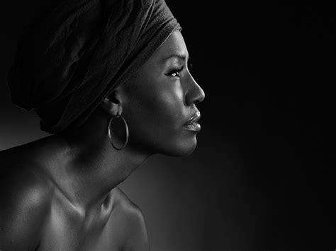 Black Portrait by Black White Portraits Color Portraits Photography