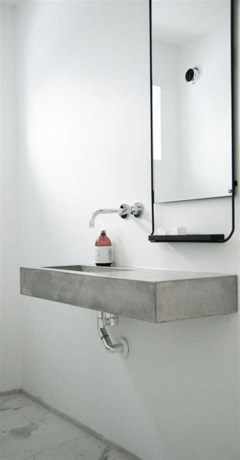 concrete sink bathroom best 25 concrete sink ideas on concrete sink