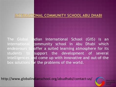 Distance Mba In Abu Dhabi by International Community School Abu Dhabi