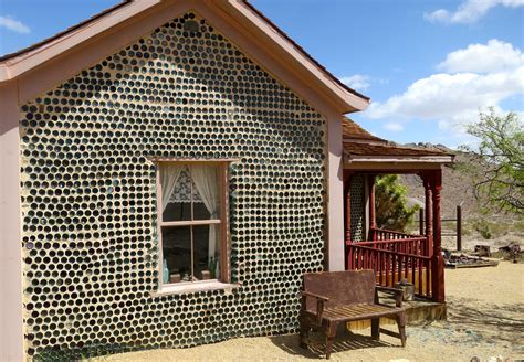 house made of glass glass bottle house at rhyolite nevada wandering through time and place
