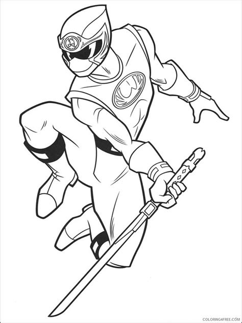 super ninja coloring pages power ranger coloring pages megazord coloring4free