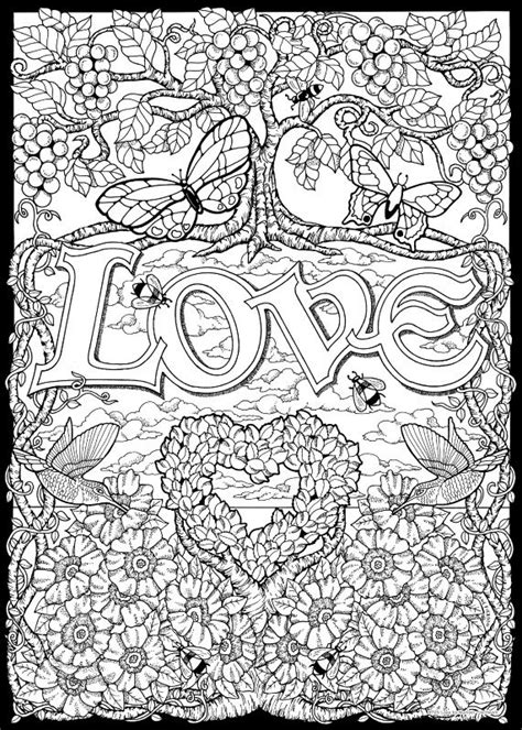 coloring pages with numbers for adults love color by number adult coloring coloring books
