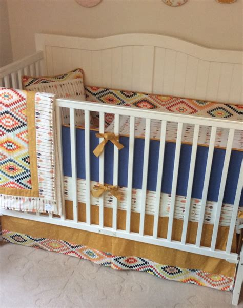 rustic crib bedding denim blue and gold rustic crib bedding set deposit