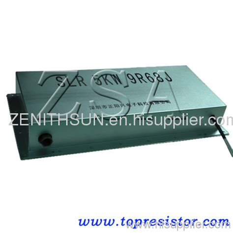 water cooled high power resistors water cooling resistor box high power rating widely used in solar energy wind energy slr as