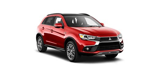2017 mitsubishi outlander sport png which mitsubishi models have a leather interior option for