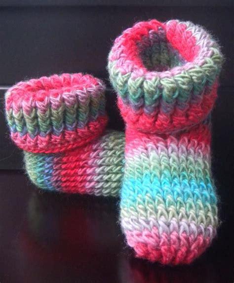 crochet slipper patterns for toddlers knit look slipper boots crochet children children