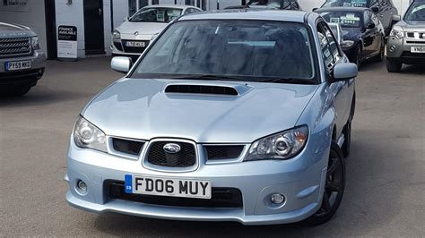 subaru wrx turbo used 2006 subaru impreza wrx turbo for sale in oxfordshire